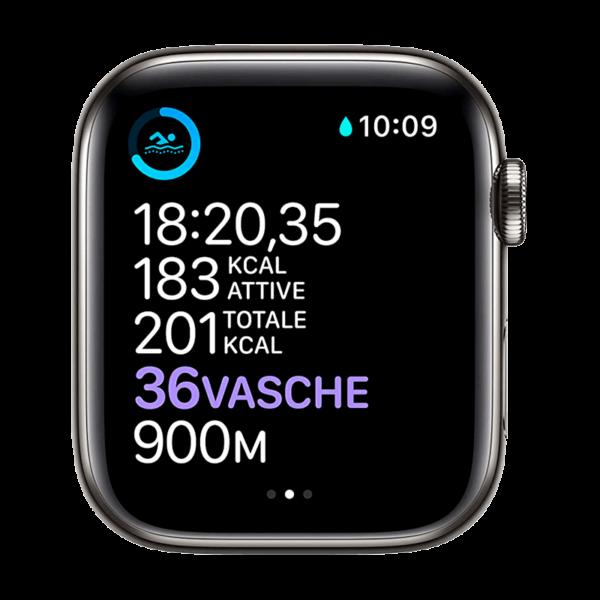 Apple Watch Series 6 Acero Inoxidable 40 mm GPS + Cellular Grafito/Milaneses Loop Grafito