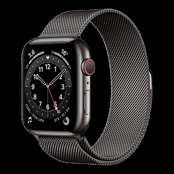 Apple Watch Series 6 Acero Inoxidable 44 mm GPS + Cellular Grafito/Milaneses Loop Grafito