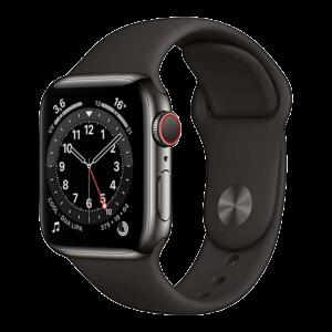 Apple Watch Series 6 Acero Inoxidable 44 mm GPS + Cellular Grafito / Negro