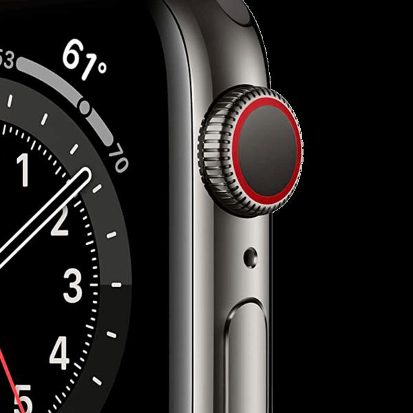 Apple Watch Series 6 Acero Inoxidable 40 mm GPS + Cellular Grafito/Negra