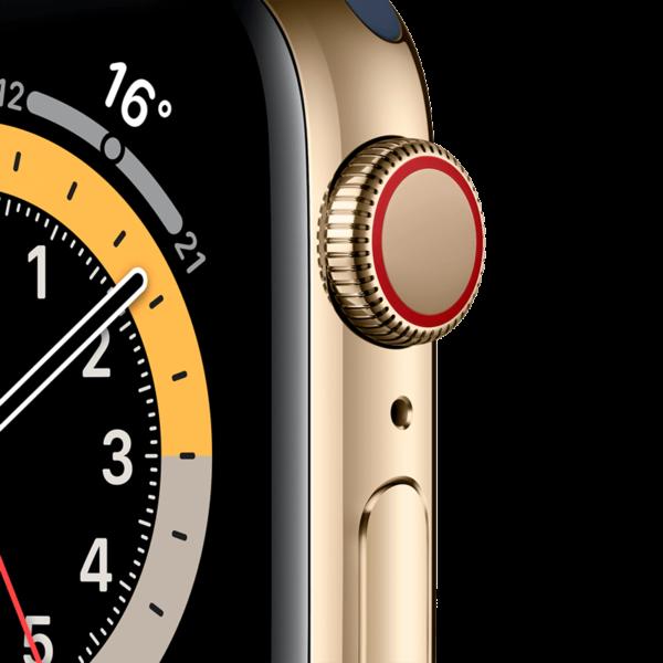 Apple Watch Series 6 Acero Inoxidable 40 mm GPS + Cellular Oro/Loop Oro