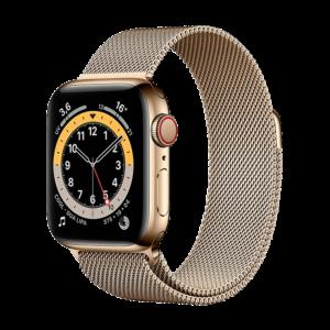 Apple Watch Series 6 Acero Inoxidable 44 mm GPS + Cellular Oro / Loop Oro