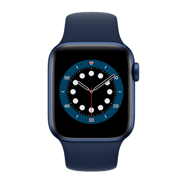 Apple Watch Series 6 Acero Inoxidable 40 mm GPS + Cellular Azul / Azul Marino