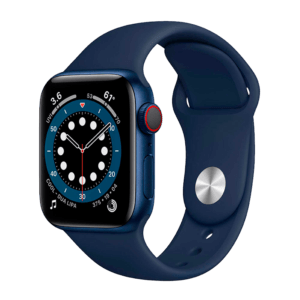 Apple Watch Series 6 Aluminio 44 mm GPS + Cellular Azul / Azul Marino