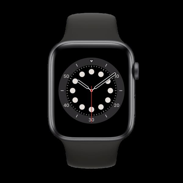 Apple Watch Series 6 Aluminio 40 mm GPS + Cellular Gris Espacial/Negra