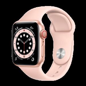 Apple Watch Series 6 Aluminio 44 mm GPS + Cellular Oro/Rosa Arena