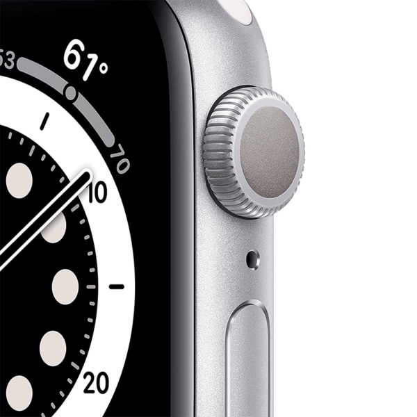 Apple Watch Series 6 Aluminio 40 mm GPS + Cellular Plata/Blanca