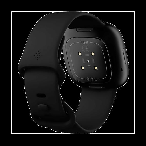 Fitbit Versa 3 Aluminio Negro/Negro