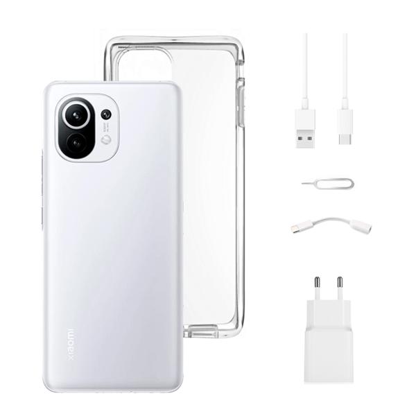 Xiaomi Mi 11 5G 8/128GB Blanco Nube
