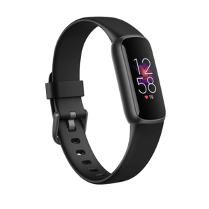 Fitbit Luxe Acero inoxidable Negro Grafito / Negro