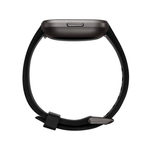 Fitbit Versa 2 Aluminio Gris Niebla / Negro